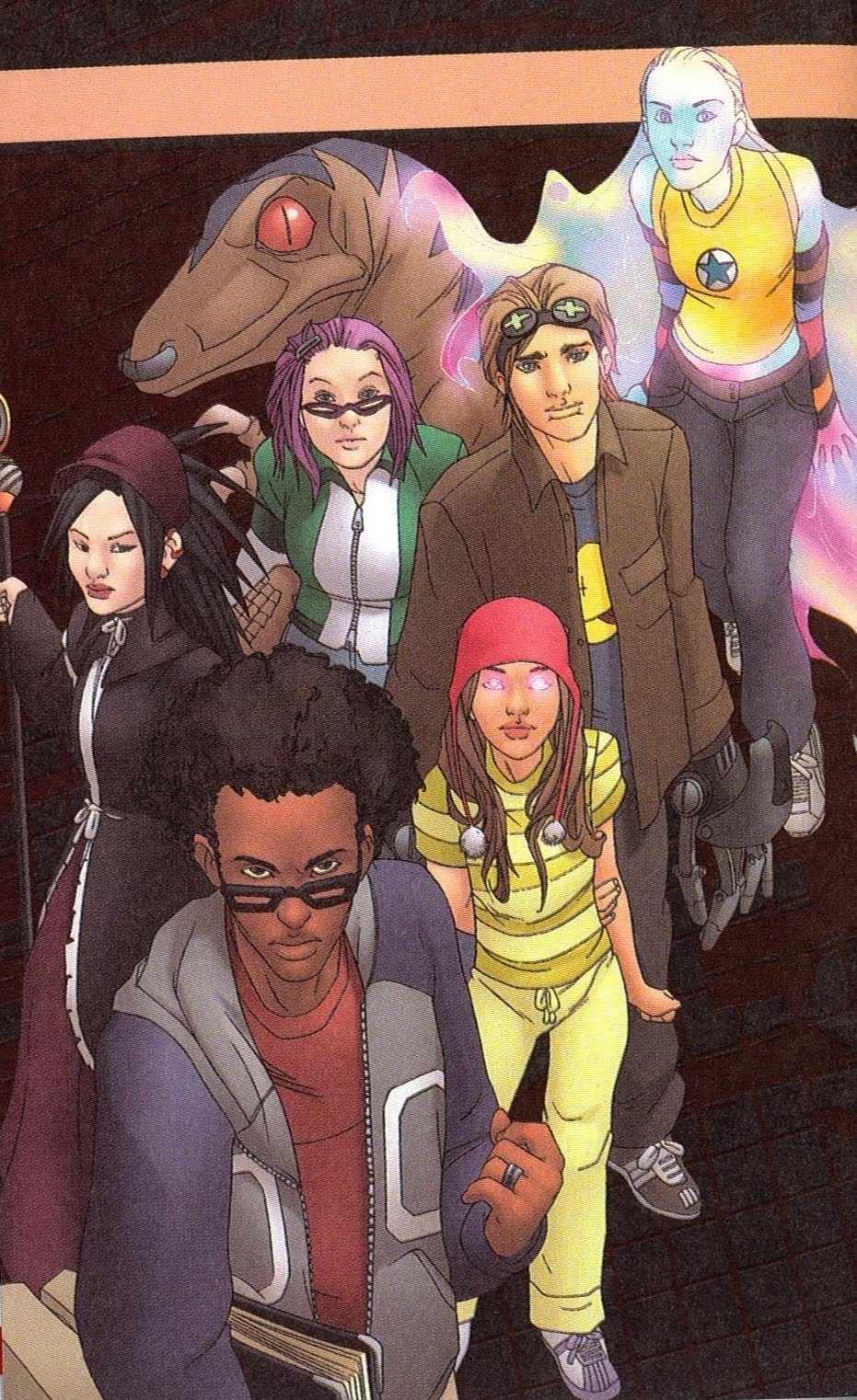 runaways back cover