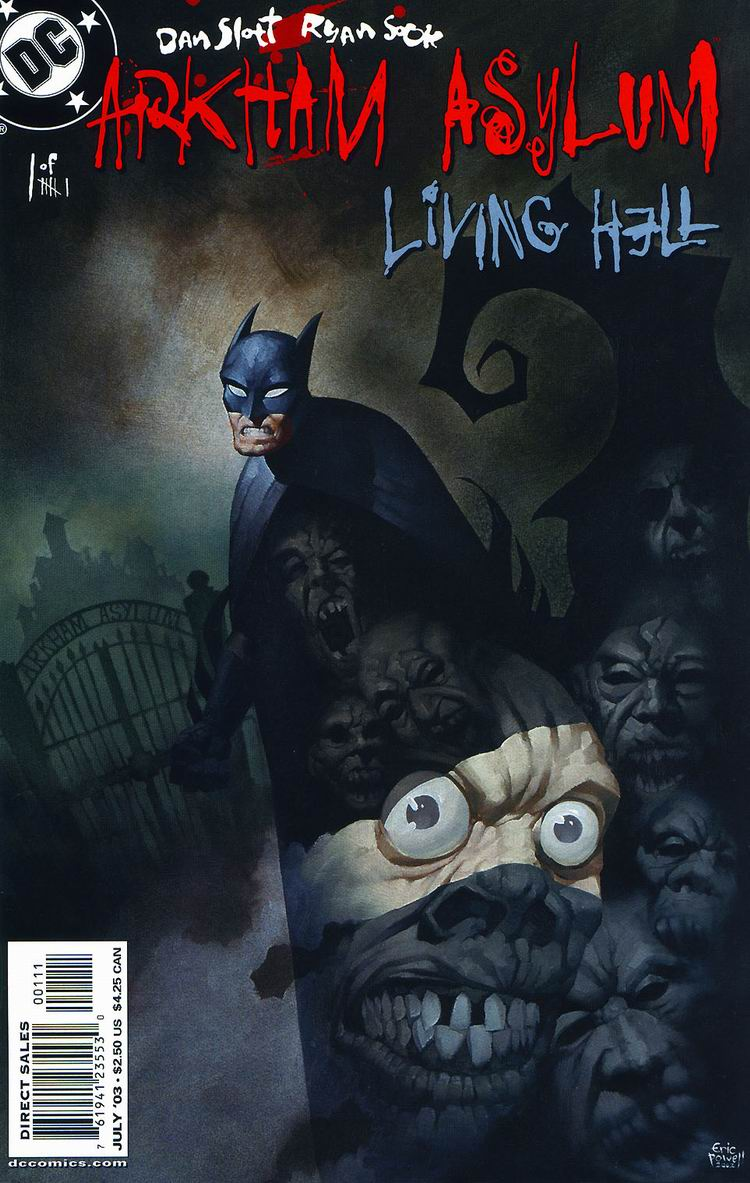 Arkham Asylum - Living Hell #1 pg00