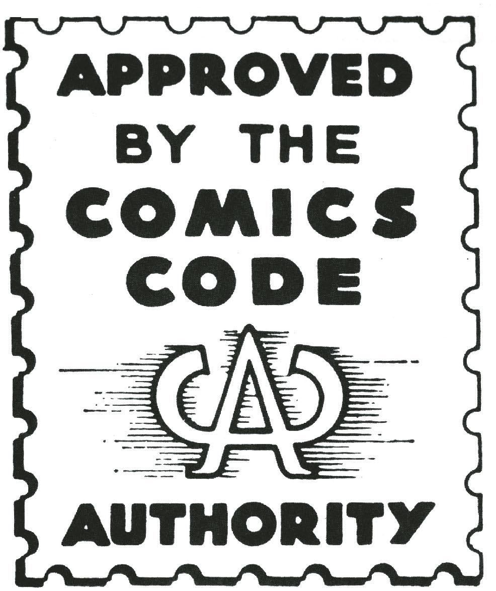 Логотип Comics Code